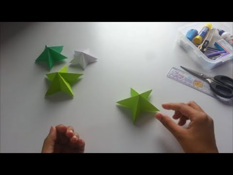 how to make paper star -easy way
