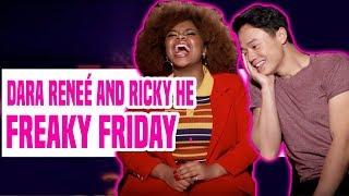 DCOM Freaky Friday Stars Dara Reneé & Ricky He Talk About the Movie