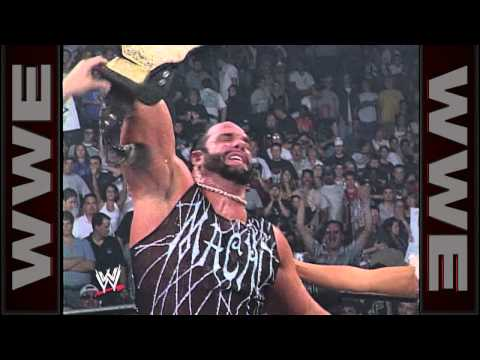 """Macho Man"" defeats Kevin Nash for the WCW Championship"