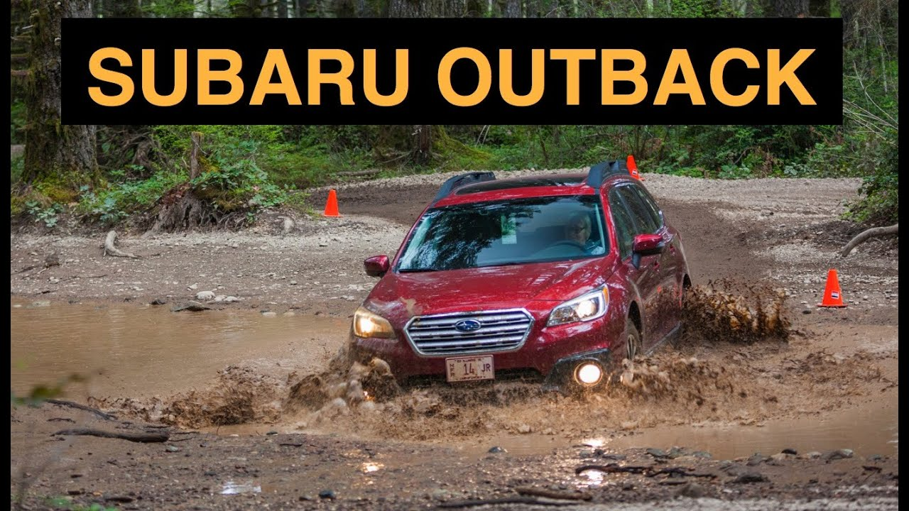 2015 Subaru Outback Off Road And Track Review Youtube