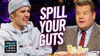 Spill Your Guts or Fill Your Guts w/ Justin Bieber