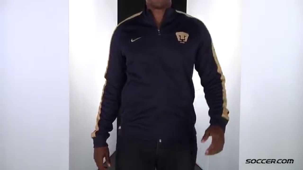 0237f32c3 Nike UNAM Pumas N98 Track Jacket 15 16 - YouTube