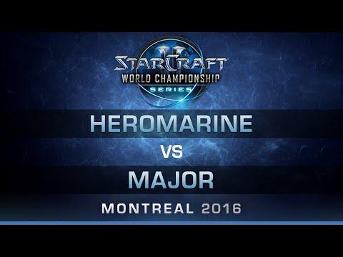 SC2 - HeroMarine vs Major [TvT] - RO8 - Bo5 - DreamHack Zowie Open Montreal 2016