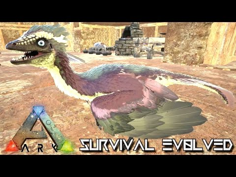 ARK: SCORCHED EARTH - NEW ARCHAEOPTERYX & PARACER TAMING !!! E15 (ARK SURVIVAL EVOLVED GAMEPLAY)