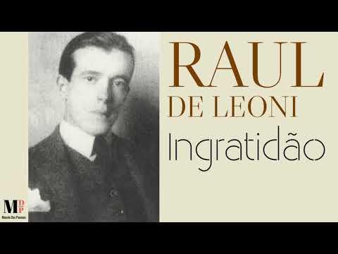 Ingratidão | Poema de Raul de Leoni com narração de Mundo Dos Poemas -  YouTube