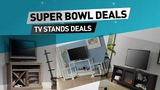Super Bowl 2017 // TV Stands Deals - Save up to 70% off exclusive deals