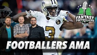 Fantasy Football 2019 - Footballers AMA + Coaching Changes, Giant Heads - Ep. #682