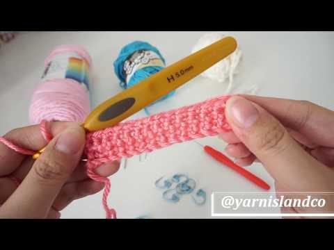Tutorial Merajut Crochet Untuk Pemula Ep 1 - Alat dan Bahan
