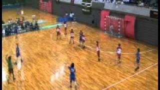 2010年11月19日(金)インカレ女子・福岡大学vs日本女子体育大学