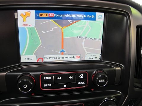 Conversion Gps Europe Chevrolet Et Gmc 2014 A 2016 Youtube