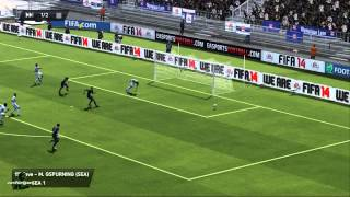 FIFA 14 Online Seasons: Seattle Sounders vs Olympique Lyonnais