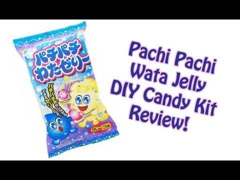 Pachi Pachi Wata Jelly DIY Candy Kit Review!