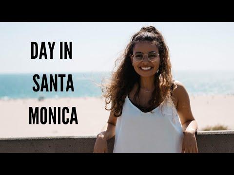 Visiting the Santa Monica Pier