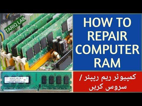 How To Repair / Clean Computer RAM. Very Simple Method