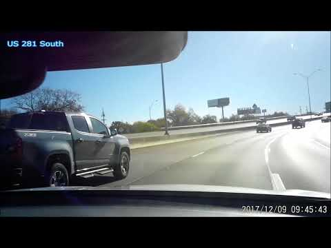 US 281 south and Interstate 10 East from Loop 1604 W to I-10 MM 592 in Texas on 12/09/2017