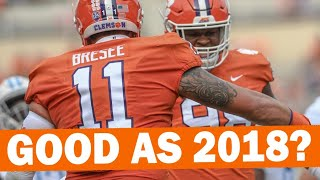Will Clemson Defense Be As Good As 2018?