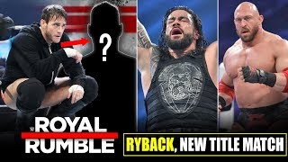 CM Punk REVEALED* Rumble Winner Pick, Ryback 30 Man Rumble Status, Smackdown Ratings, Royal Rumble