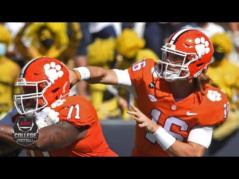 Trevor Lawrence highlights: 404 yards, 5 TDs vs. Georgia Tech | 2020 College Football Highlights