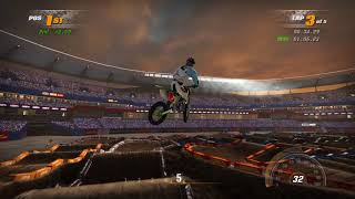 James Stewart 2018!!! Supercross Quintuple Jump Into Quad Jump
