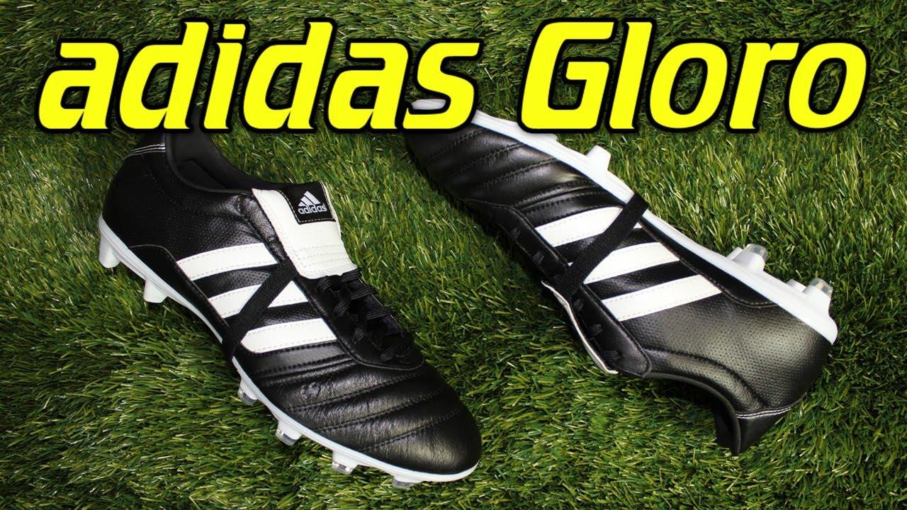 coser Ciencias Sábana  Adidas Gloro Black/White - Review + On Feet - YouTube