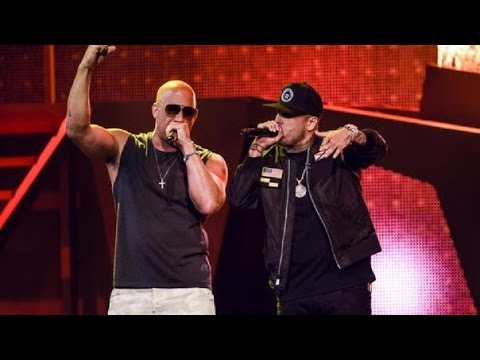 Nicky Jam & Vin Diesel  El AmanteEl Ganador~Premios Billboard Latin Music Awards 2017