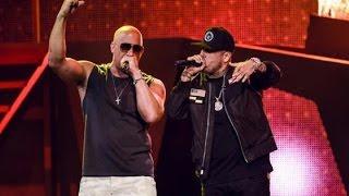 Nicky Jam & Vin Diesel - El Amante El Ganador~premios Billboard Latin Music Awards 2017