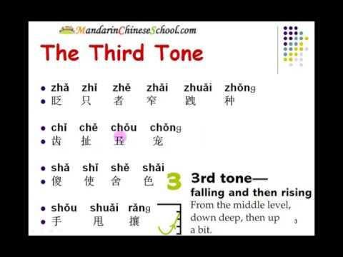 Learn Standard Mandarin Chinese:Tones Drill - Second Tone & Third Tone
