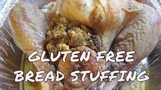 Gluten Free Bread Stuffing For Turkey Or Chicken