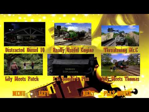 Thomas And The Magic Railroad Full Steamed and Uncut DVD Menu