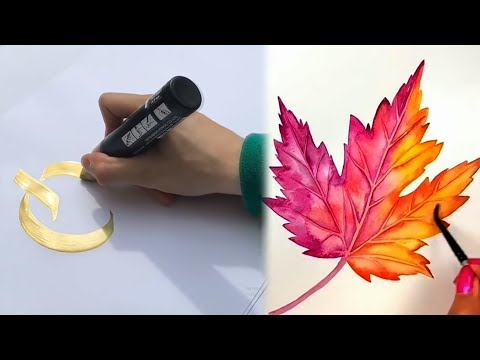 Amazing Watercolor Painting Compilation - MUST SEE