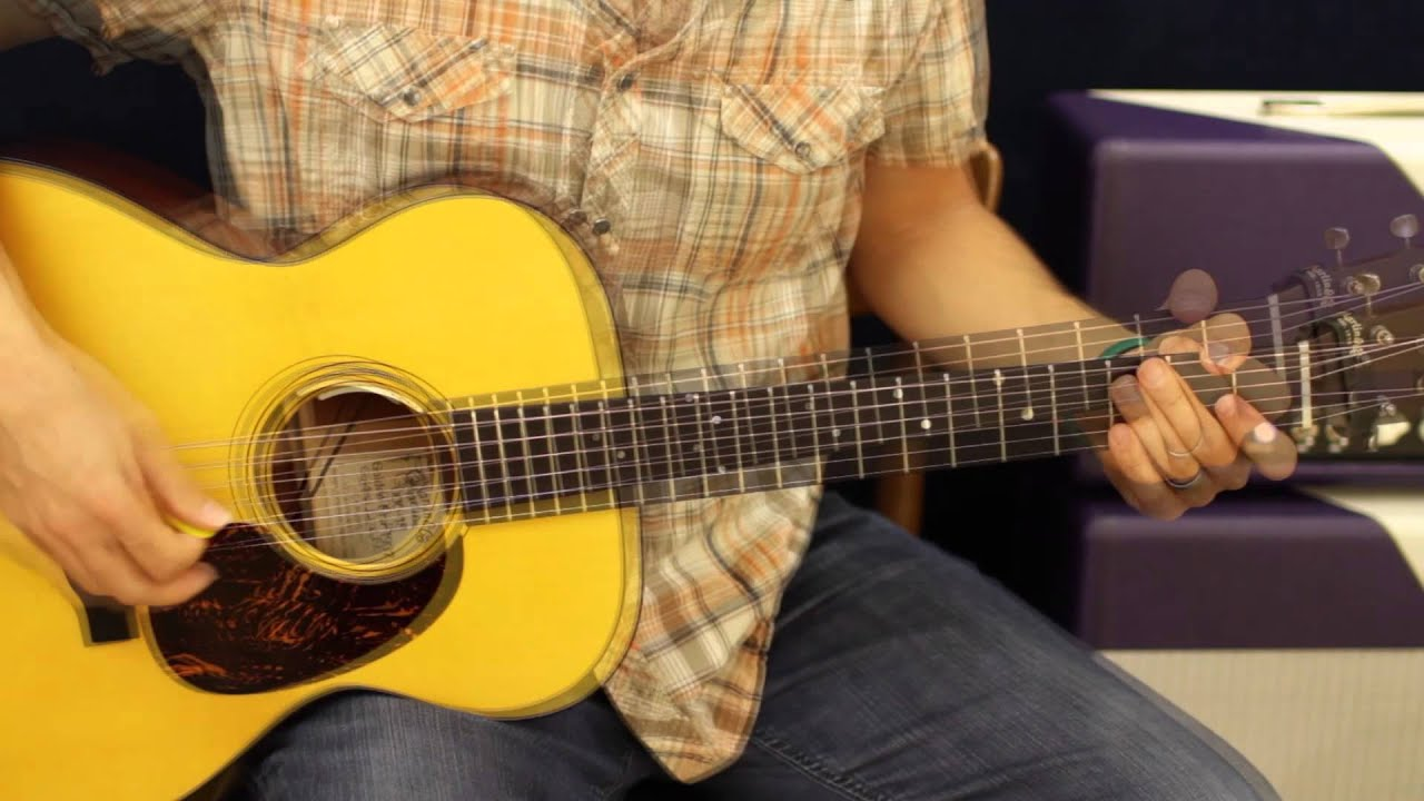 Carrie Underwood Blown Away Acoustic Guitar Lesson Tutorial