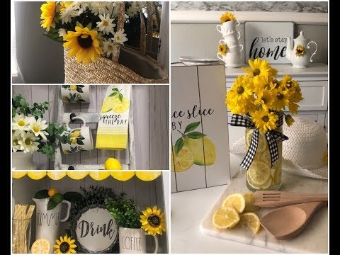 SUMMER COFFEE STATION WITH SUMMER DECOR IDEAS JULY 2019