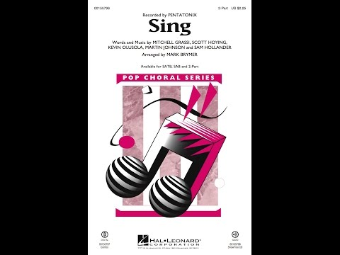 Sing 2Part  Arranged  Mark Brymer