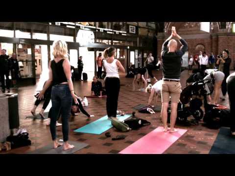 Copenhagen Yoga Festival FlashMob