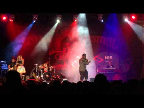 CANDY DULFER Concert at NISVILLE 2014 (part 2), 15 August 2014