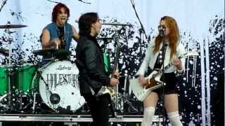 Halestorm - Love Bites (So Do I) Live - Download Festival, Donington, UK, June 2012