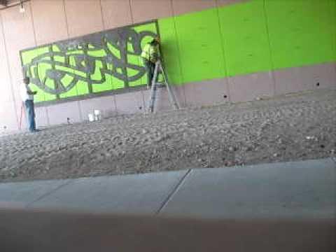 Mural del artista mexicano gonzalo espinosa tucson az usa for Mural mexicano