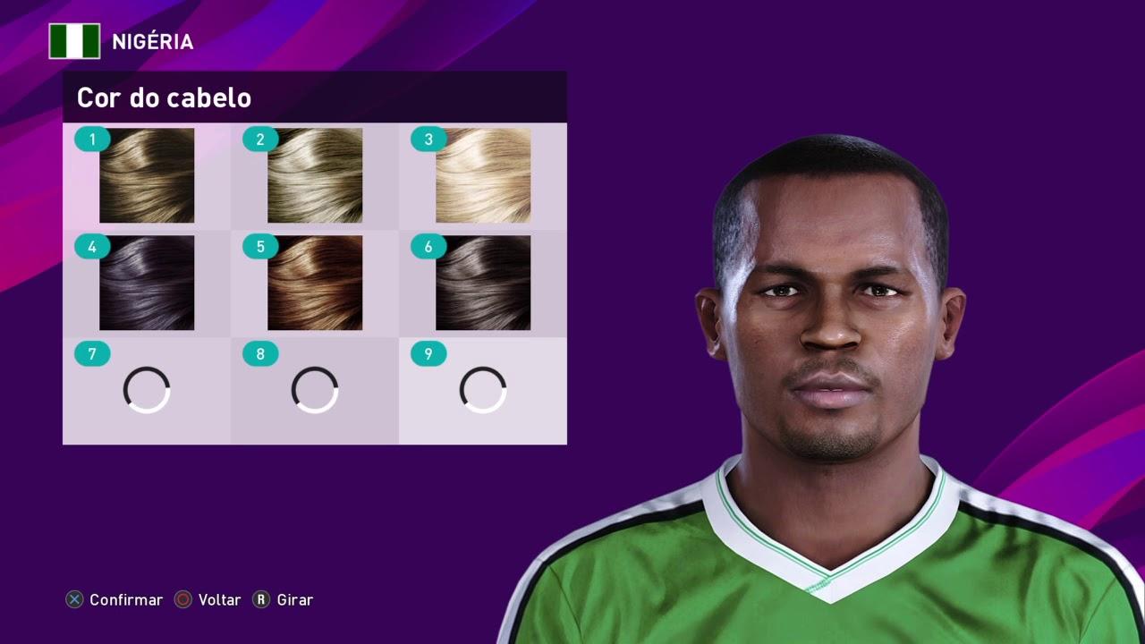VICTOR IKPEBA - FACE BUILD - PES 2020