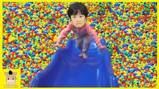 Baby Born Doll fun play on the indoor playground for kids Play Area for children | MariAndKids Toys