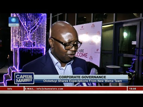 Oloketuyi Shares Expectations From New Wema Team | Capital Market |
