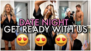Boyfriend vs Girlfriend ROUTINE! Date Night Get Ready with us!