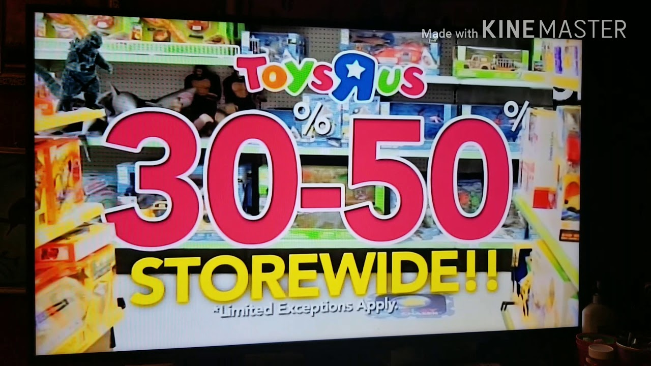 Toys R Us Commercial Going Out Of Business Youtube