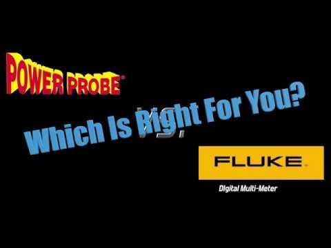 Power Probe 4 vs Fluke DMM