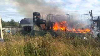 Пожар в Брехово 15 августа 2015 года(, 2015-08-15T16:51:05.000Z)