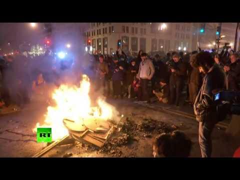Inauguration day protests take over Washington, DC