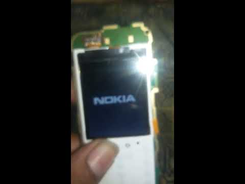 Nokia RM 1035 white Display, blank display, Solution