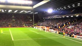 19. 02. 15 Liverpool vs Besiktas : sevemez kimse seni