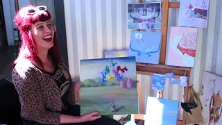 Fullerton Frame: Oil Painter Nancy Johnson