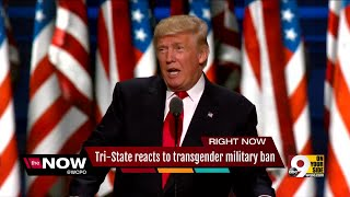 Local veteran reacts to transgender people being barred from military