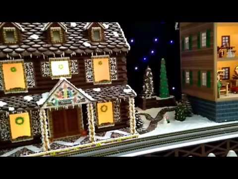 Gingerbread Village at Turning Stone Resort Casino